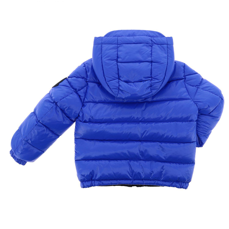 Пальто Детское Moncler синий 2
