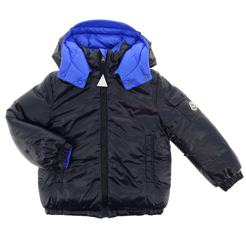 Пальто Детское Moncler синий 3