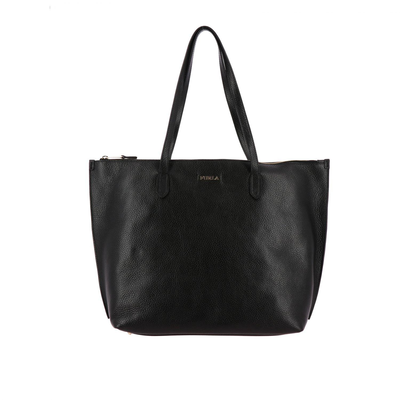 Tote bags women Furla black 1