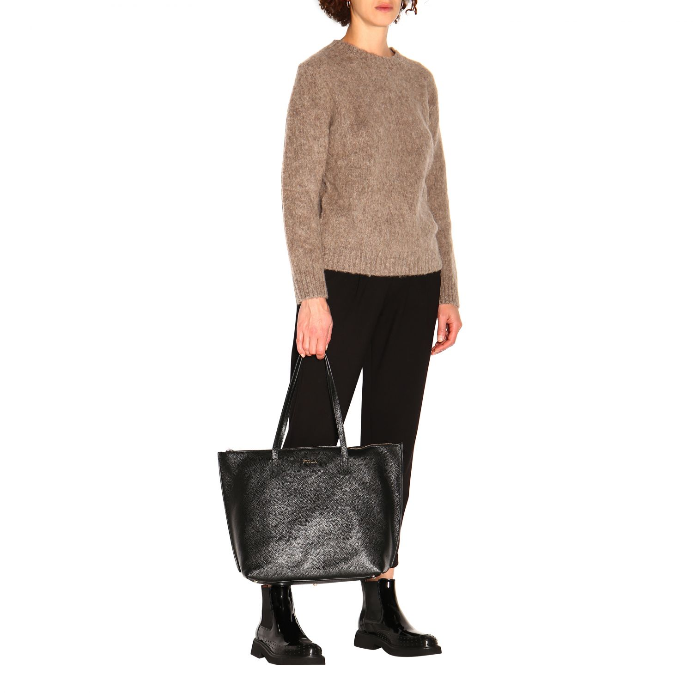Tote bags women Furla black 2