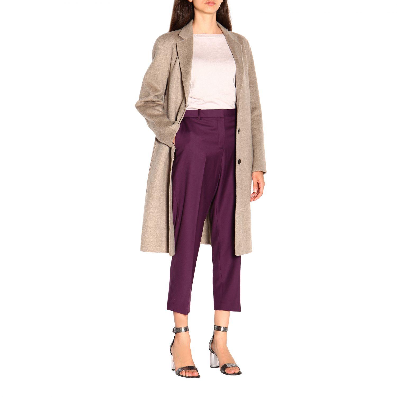 Pantalone donna Theory viola 2