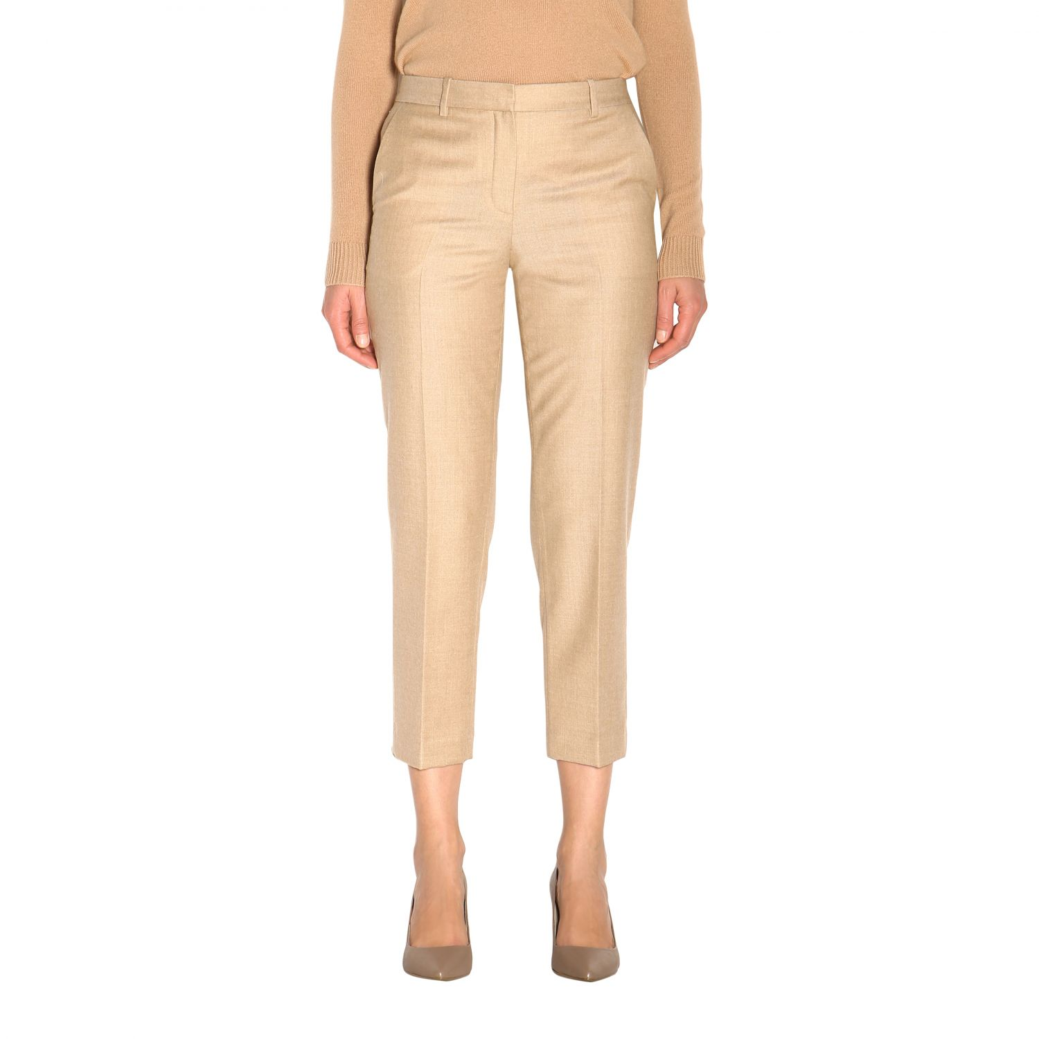 Trousers women Theory sand 1