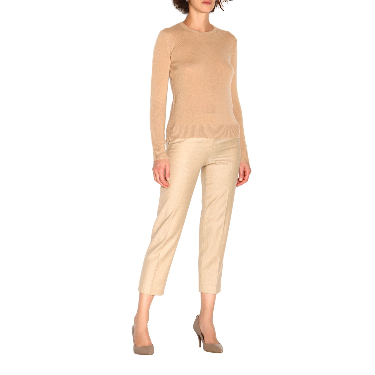 Trousers women Theory sand 2