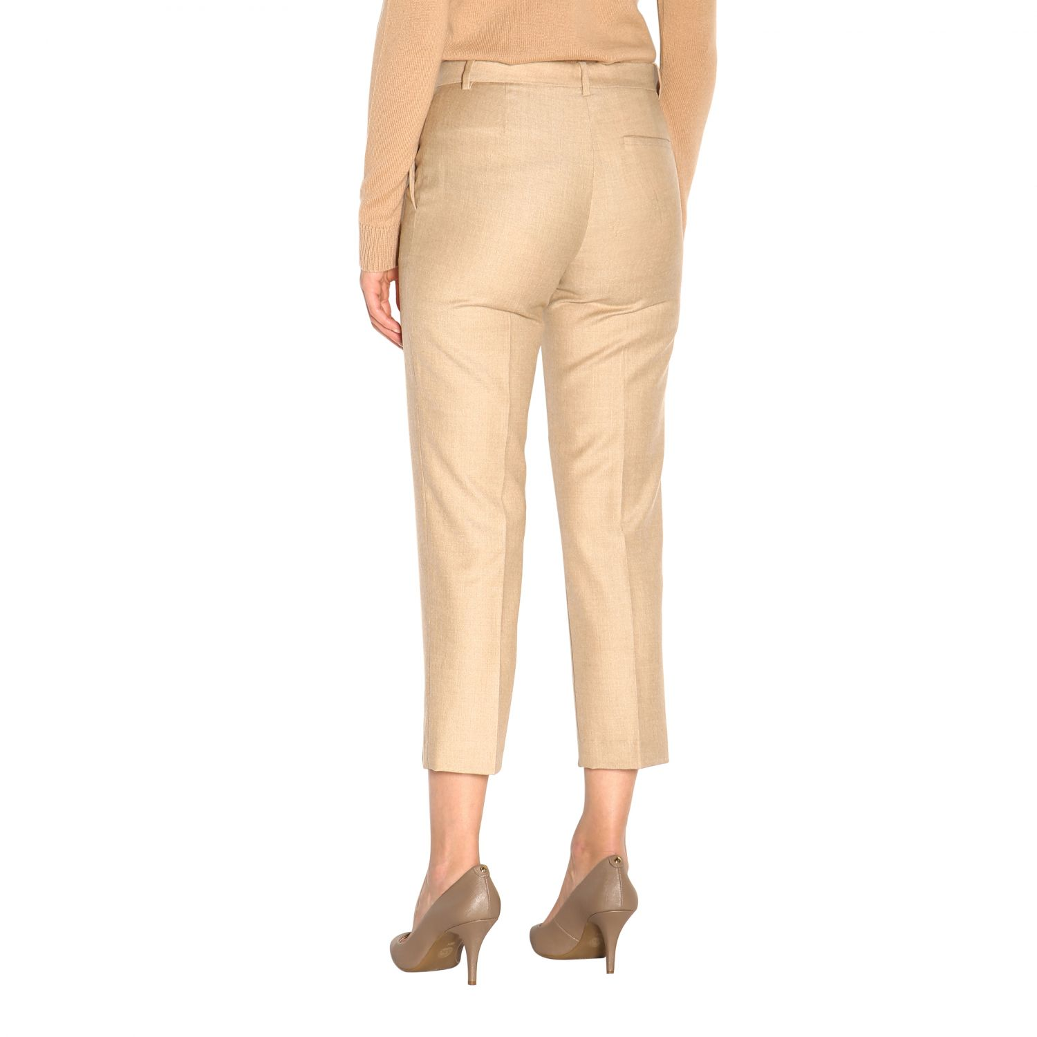 Trousers women Theory sand 3