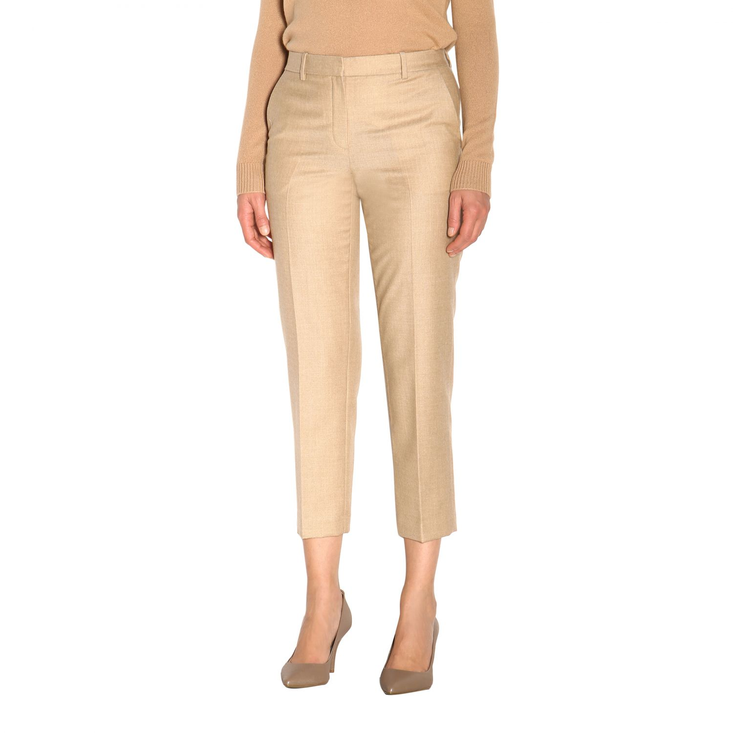Trousers women Theory sand 4