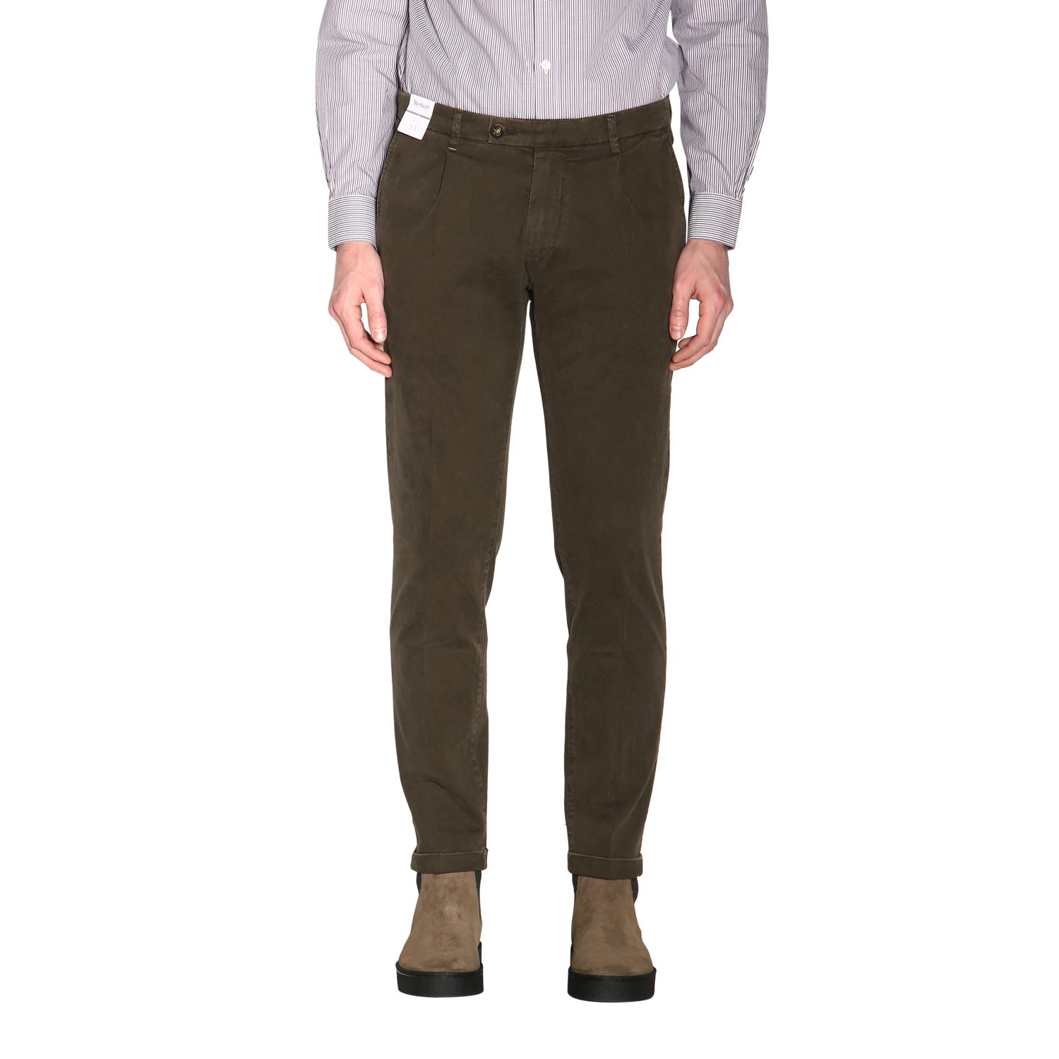 Pants men Re-hash green 1