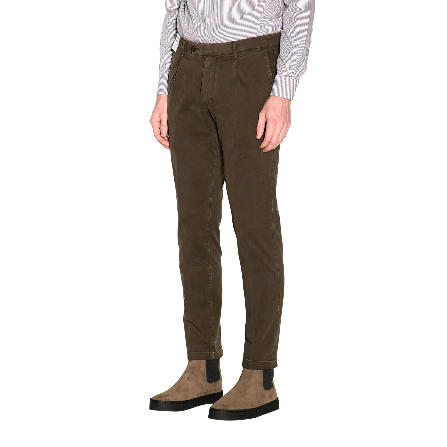 Pants men Re-hash green 4
