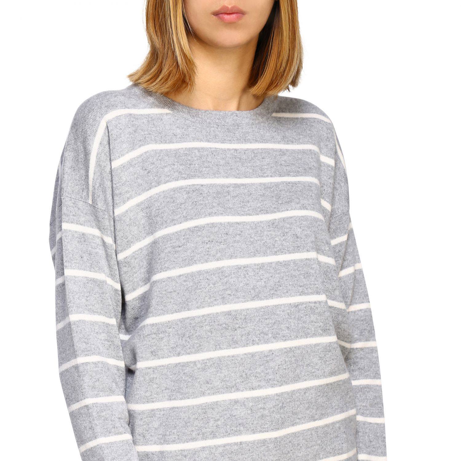 Sweater women Peserico grey 5