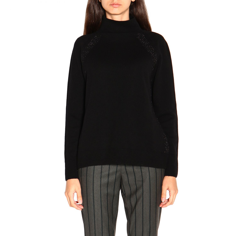 Sweater women Peserico black 1
