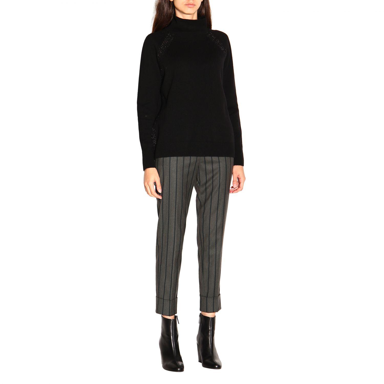 Sweater women Peserico black 2