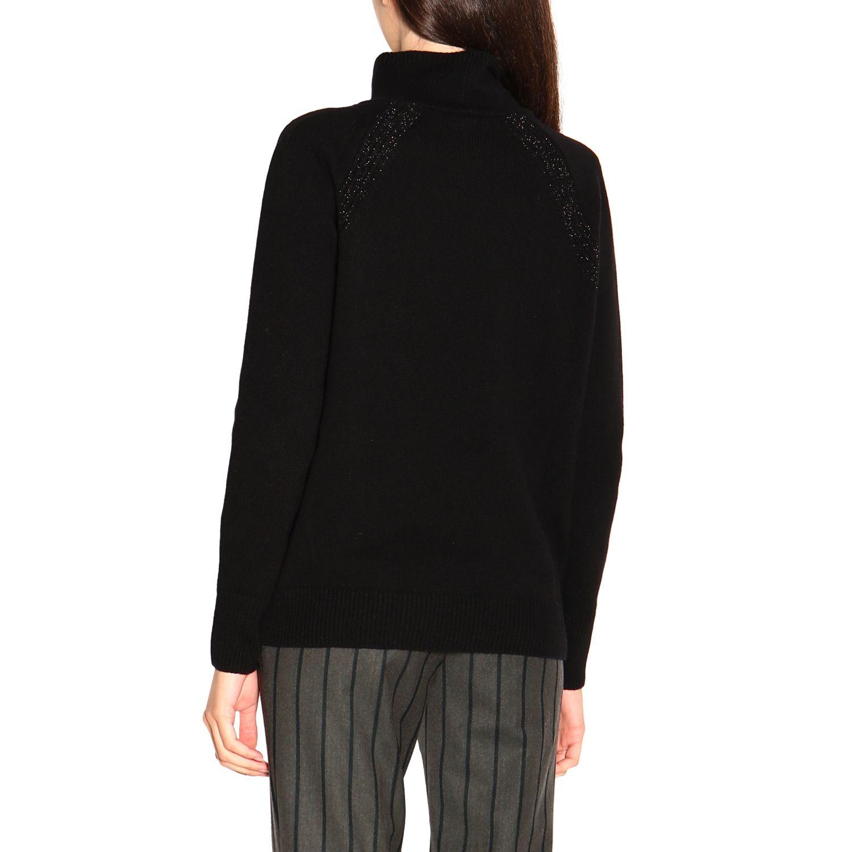 Sweater women Peserico black 3