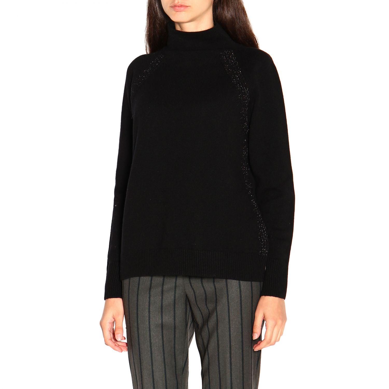 Sweater women Peserico black 4