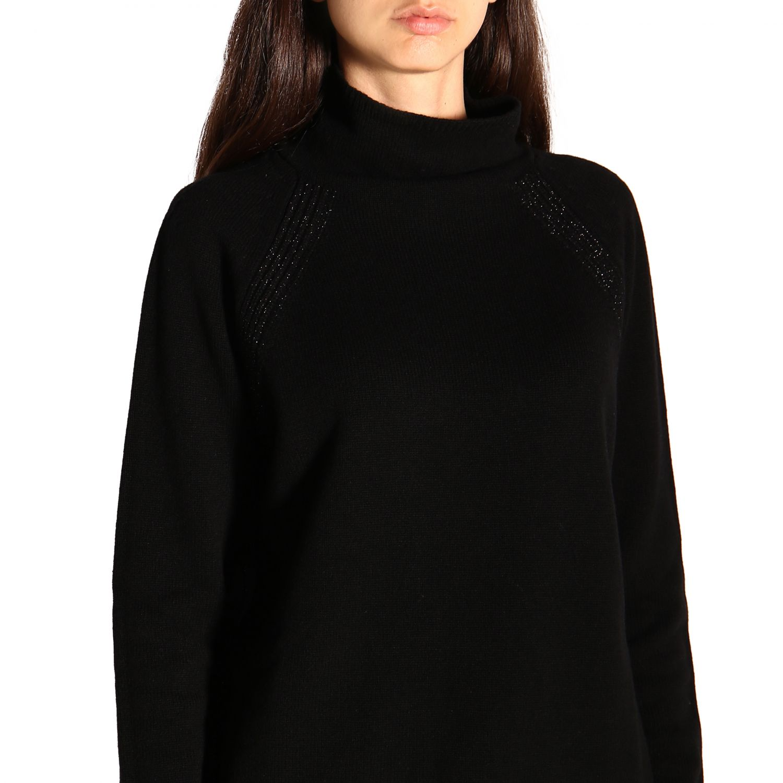 Sweater women Peserico black 5