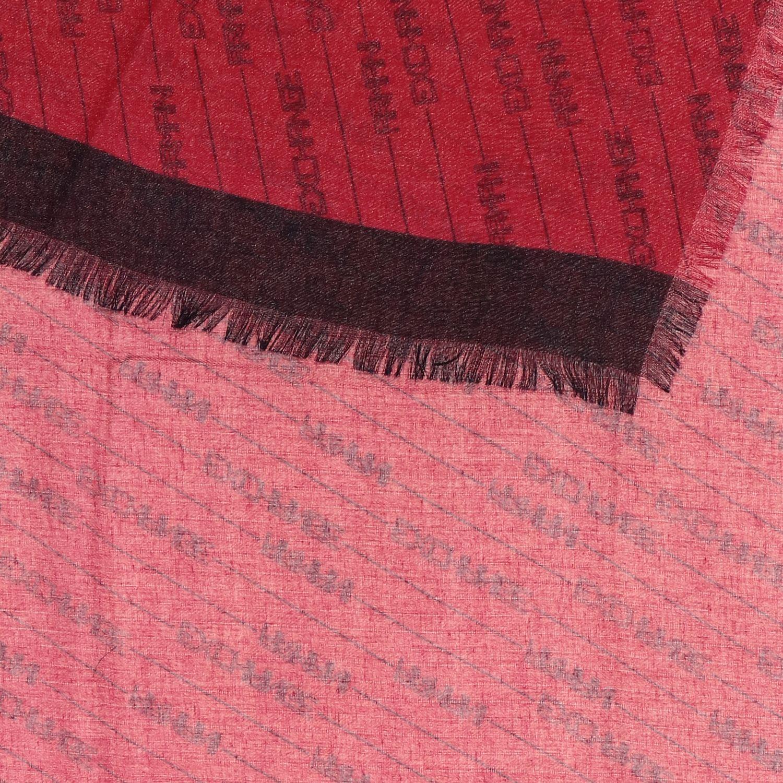Foulard Armani Exchange: Foulard Armani Exchange con logo all over rosso 3