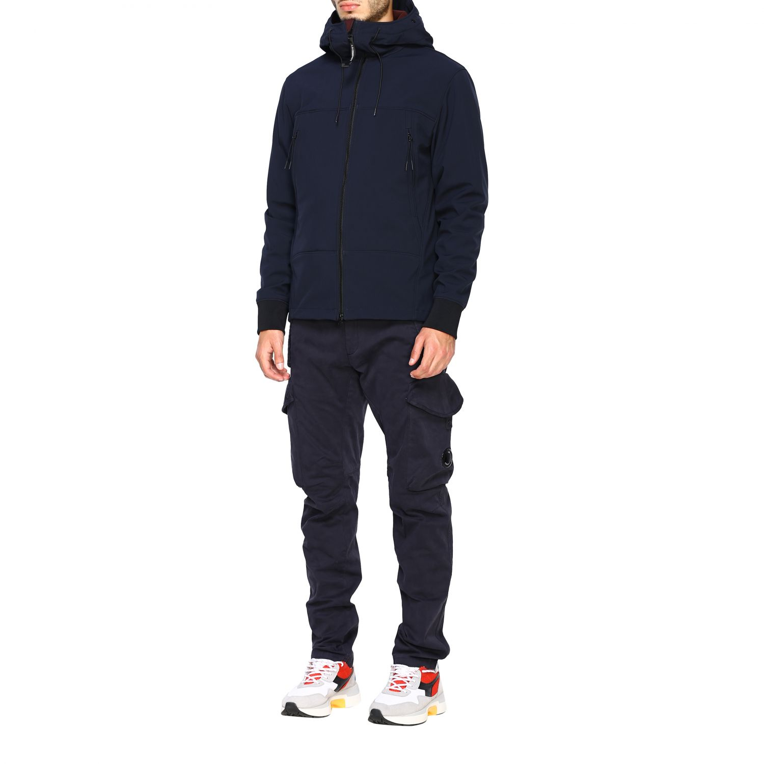 Jacket men C.p. Company blue 4