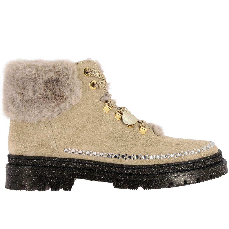 Zapatos Monnalisa: Zapatos niños Monnalisa beige 1