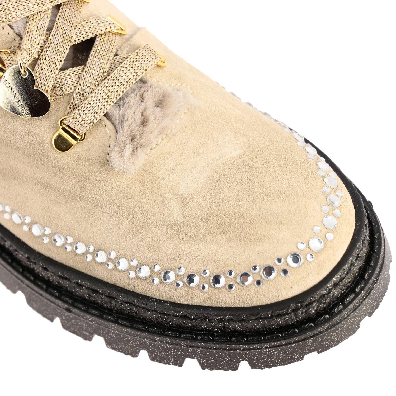 Zapatos Monnalisa: Zapatos niños Monnalisa beige 4