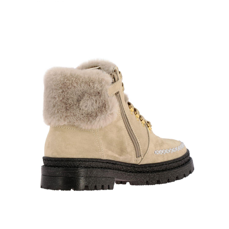 Zapatos Monnalisa: Zapatos niños Monnalisa beige 5