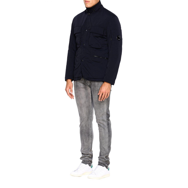 Jacket men C.p. Company blue 4