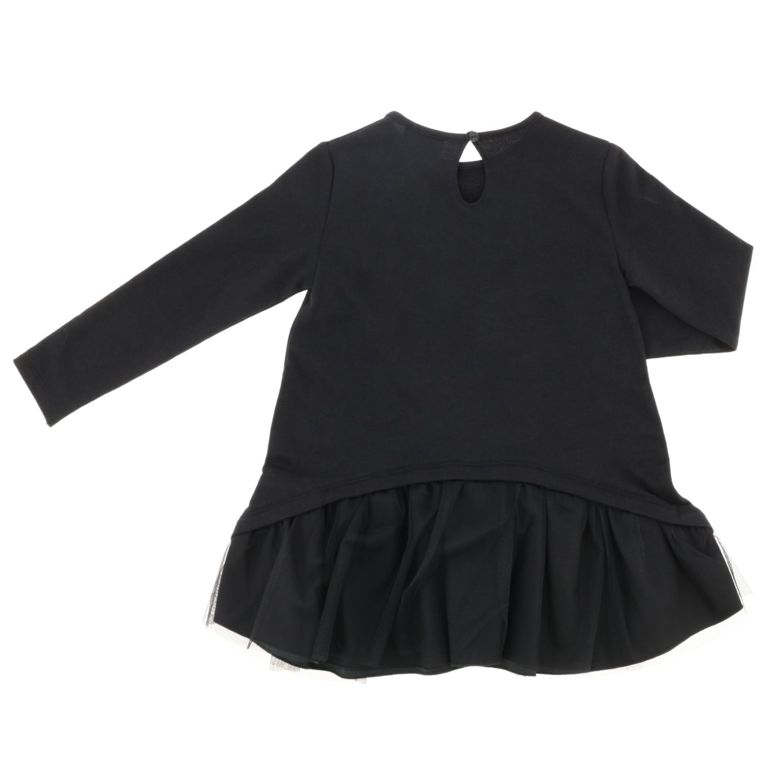 Dress kids Stella Jean black 2