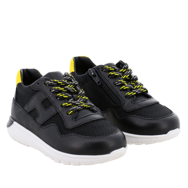 Zapatos niños Hogan Baby negro 2