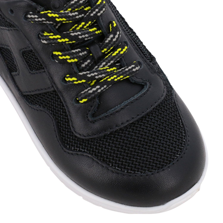 Zapatos niños Hogan Baby negro 4