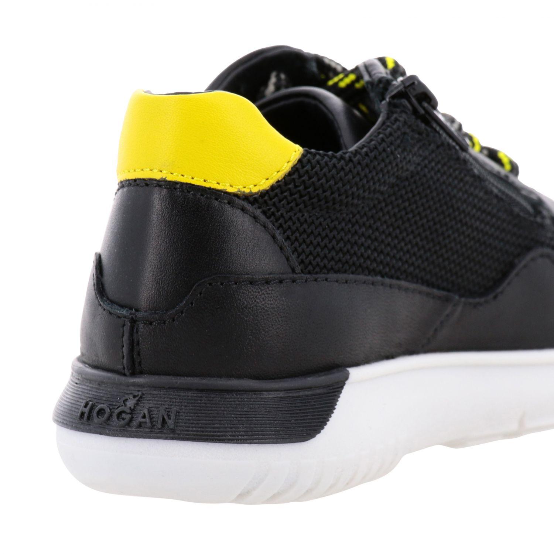 Zapatos niños Hogan Baby negro 5