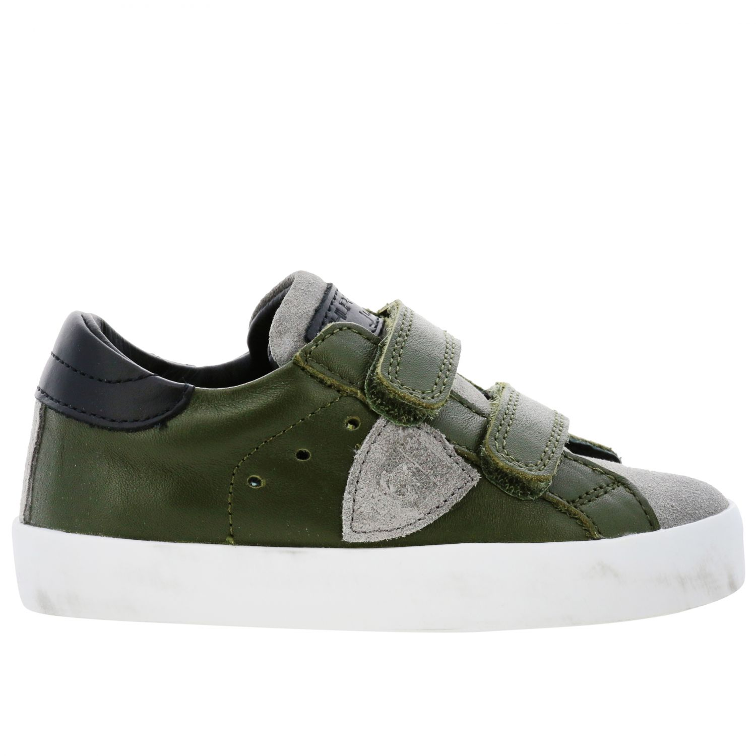 Shoes kids Philippe Model green 1