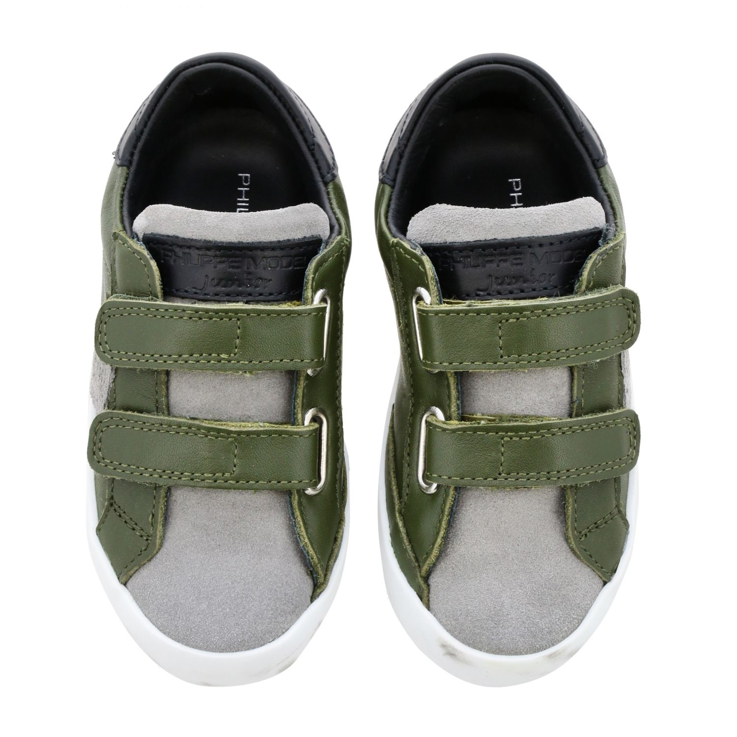 Shoes kids Philippe Model green 3