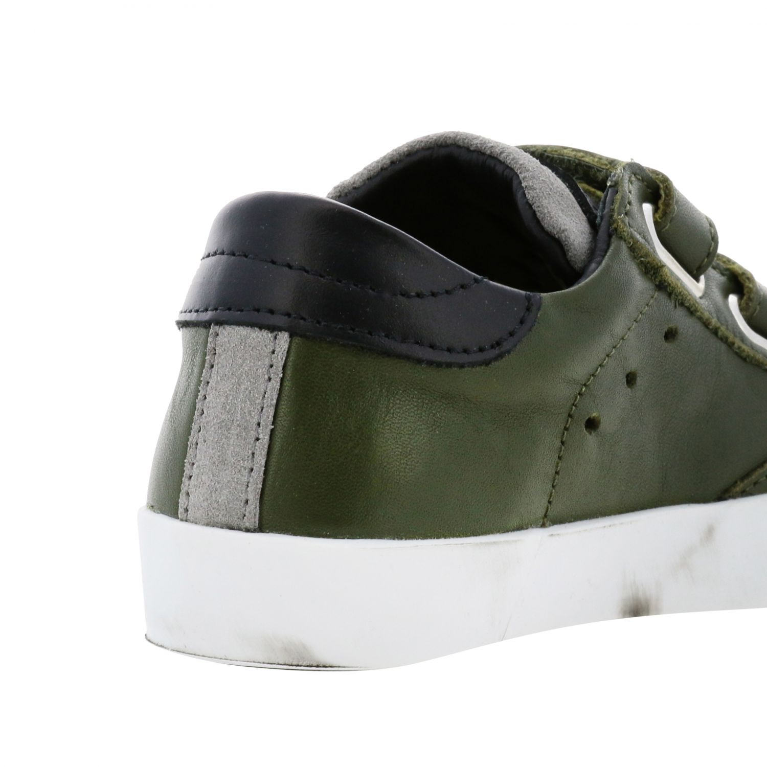 Shoes kids Philippe Model green 5