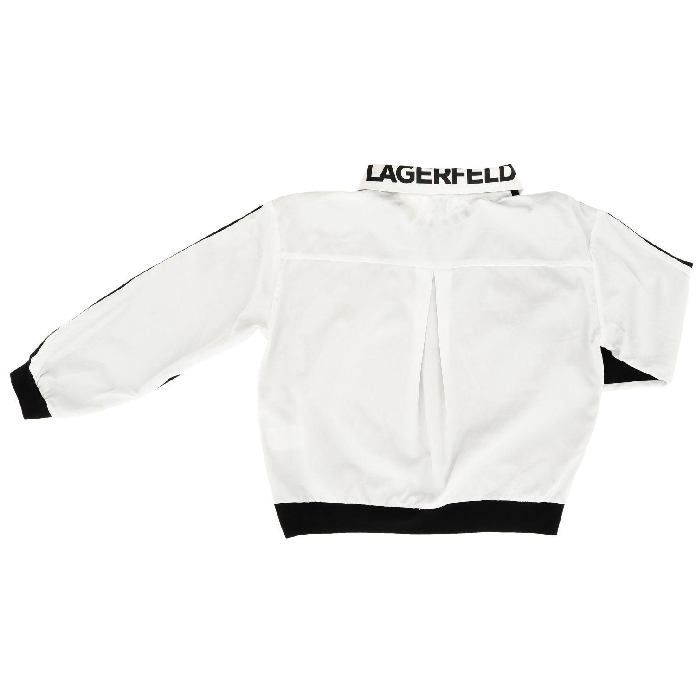 Pullover kinder Karl Lagerfeld Kids schwarz 2