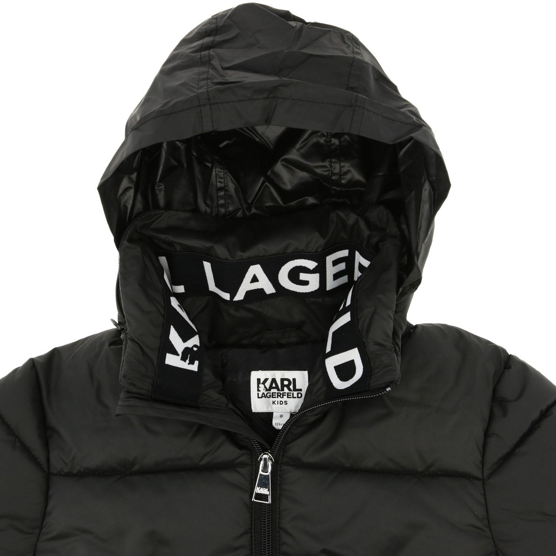 外套 儿童 Karl Lagerfeld Kids 黑色 3