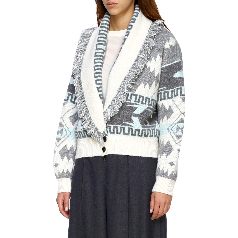 针织开衫 Alanui: 毛衣 女士 Alanui 彩色 4