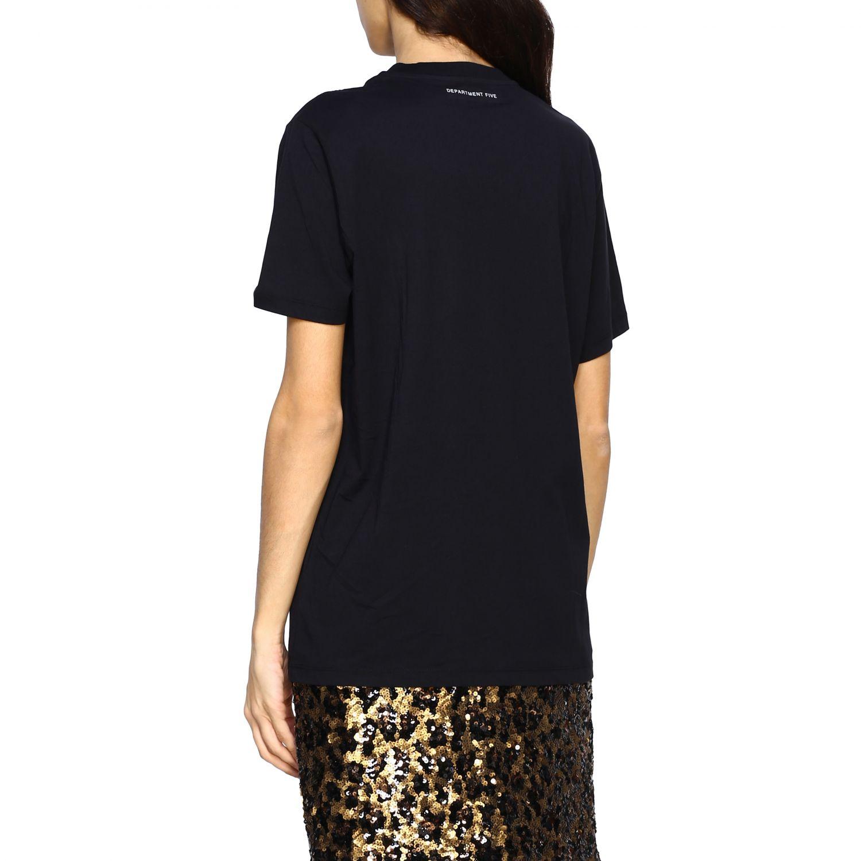 T-shirt women Department 5 black 3