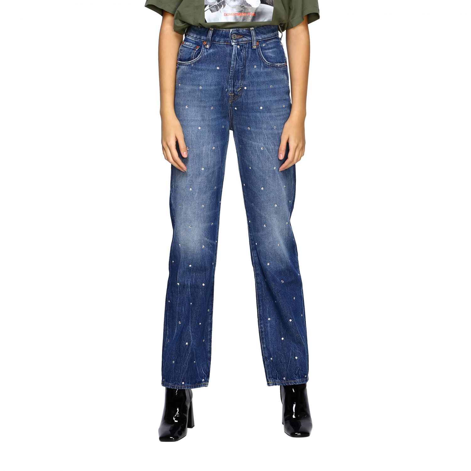 Jeans women Department 5 blue 1