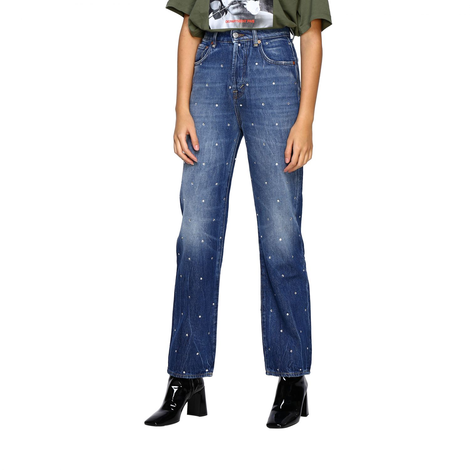 Jeans women Department 5 blue 4