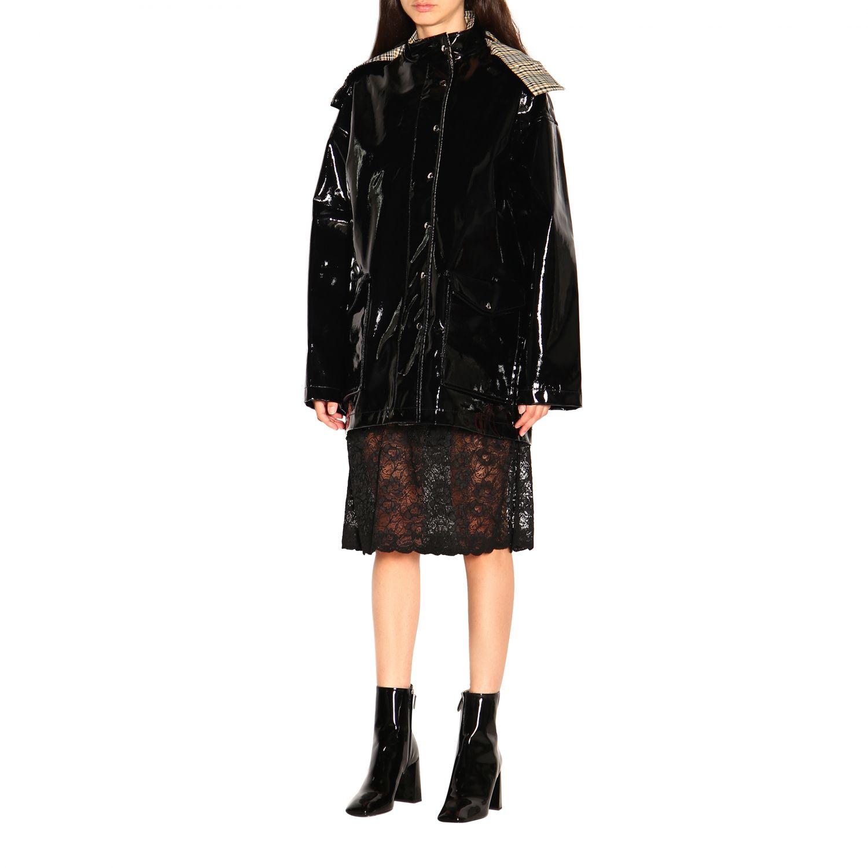 Куртка Женское Paco Rabanne черный 4