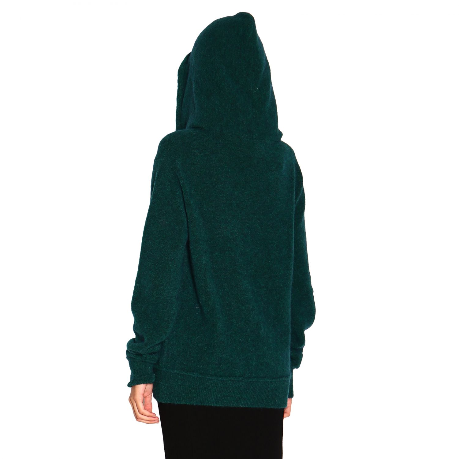 Sweatshirt women Marco Rambaldi green 3