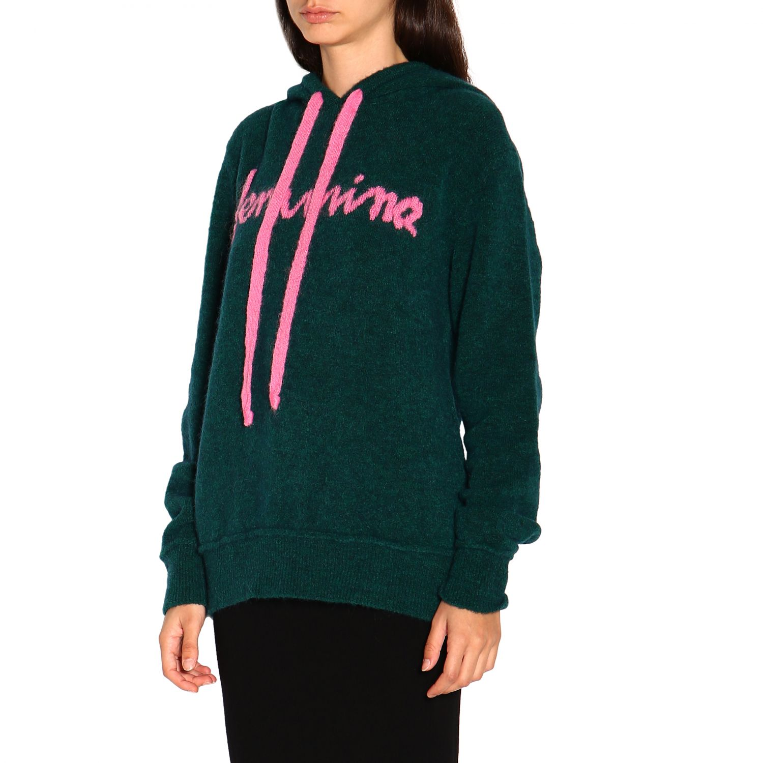 Sweatshirt women Marco Rambaldi green 4