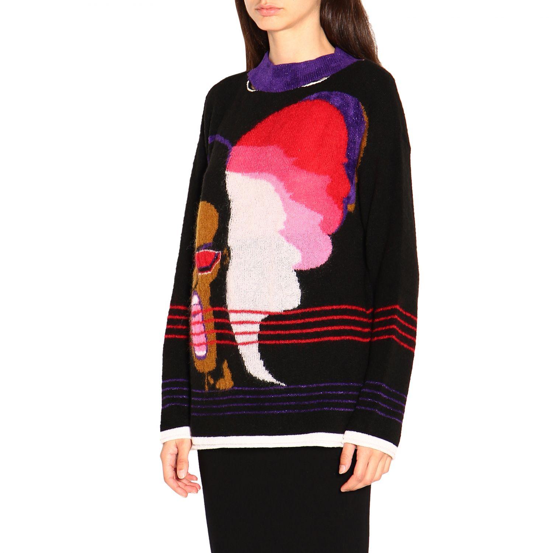 Pullover damen Marco Rambaldi schwarz 3
