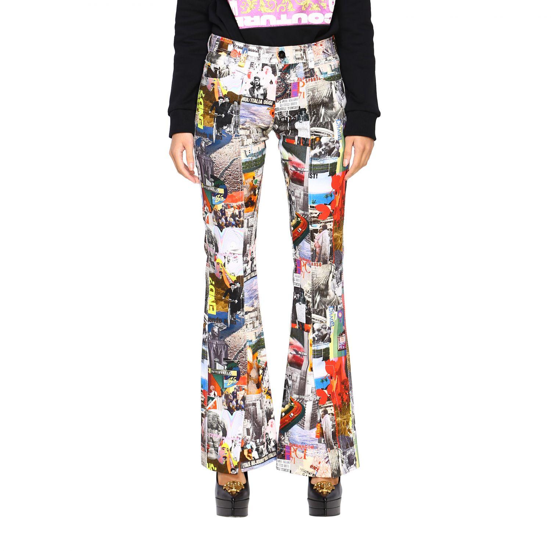 Trousers women Marco Rambaldi multicolor 1
