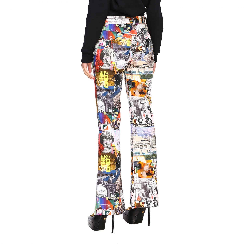 Trousers women Marco Rambaldi multicolor 3