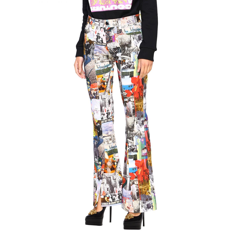 Trousers women Marco Rambaldi multicolor 4