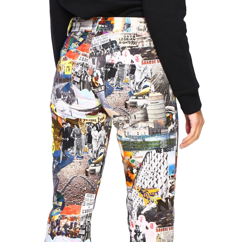 Trousers women Marco Rambaldi multicolor 5