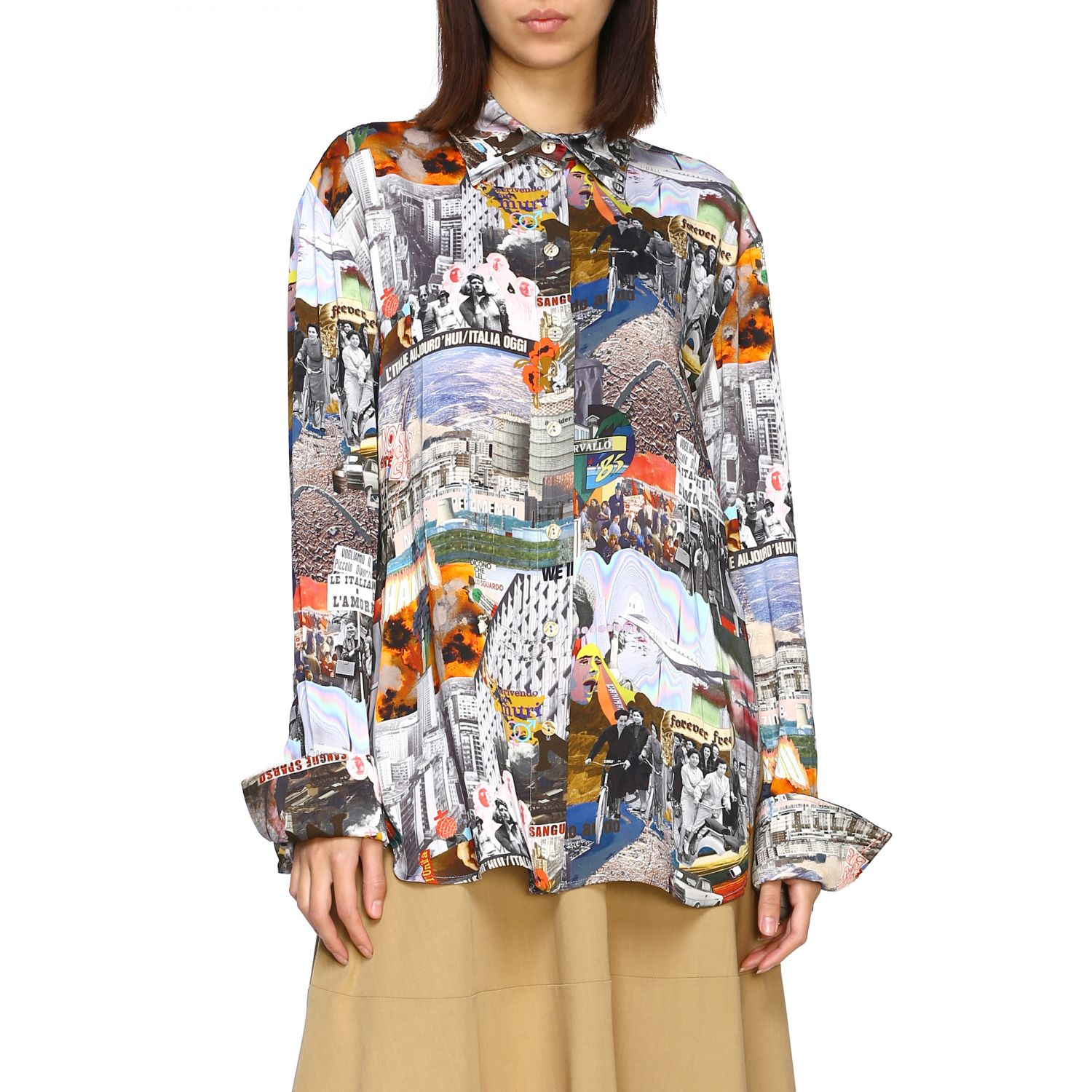 Shirt women Marco Rambaldi multicolor 1