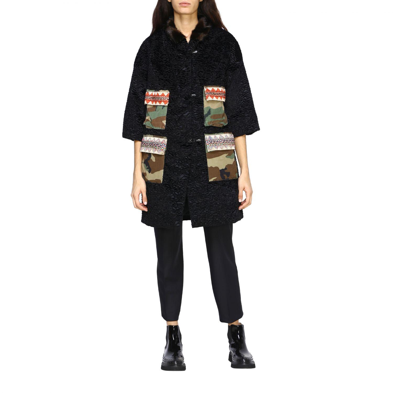 Jacket Caban Romantic: Jacket women Caban Romantic black 1