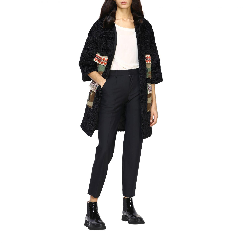 Jacket Caban Romantic: Jacket women Caban Romantic black 2