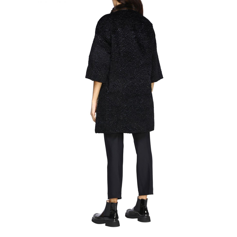 Jacket Caban Romantic: Jacket women Caban Romantic black 3