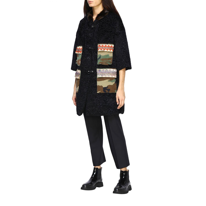 Jacket Caban Romantic: Jacket women Caban Romantic black 4