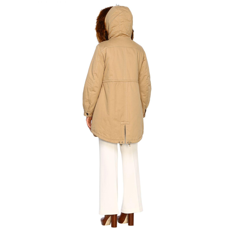 Abrigo mujer Alessandra Chamonix beige 3